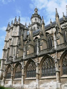 Evreux - Cathédrale Notre-Dame - Nef extérieur