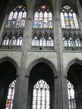 Evreux - Cathédrale Notre-Dame - Choeur: élévation