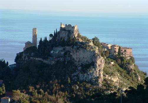 Burg und Kirche Notre-Dame-de-l'Assomption in Eze
