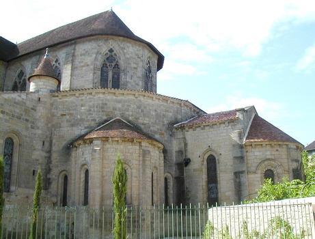 Figeac - Abbatiale Saint-Sauveur - Chevet