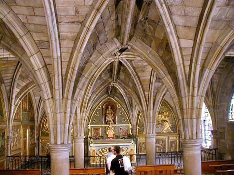 Figeac - Abbatiale Saint-Sauveur - Chapelle Notre-Dame-de-la-Pitié (ancienne salle capitulaire)