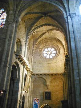 Figeac - Abbatiale Saint-Sauveur - Transept