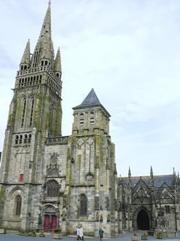 Le Folgoët - Basilique Notre-Dame - Façade occidentale
