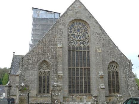 Saint-Jean-du-Doigt - Eglise Saint-Jean-Baptiste - Chevet plat