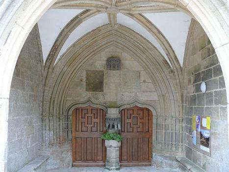 Saint-Jean-du-Doigt - Eglise Saint-Jean-Baptiste - Portail