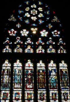 Saint-Pol-de-Léon - Chapelle Notre-Dame-du-Kreisker - Virail du choeur