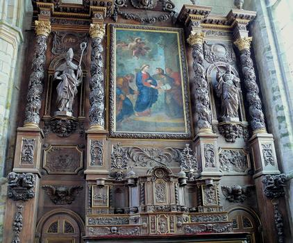 Saint-Pol-de-Léon - Chapelle Notre-Dame-du-Kreisker - Rétable de la Visitation