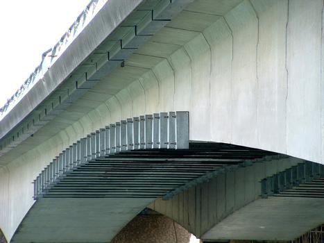 Francilienne - N104 Premier pont sur la Seine à Corbeil-Essonnes Réparation du tablier
