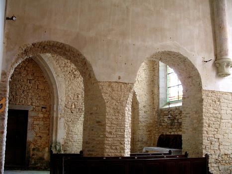 Gigny-sur-Suran - Abbatiale - Travées du choeur
