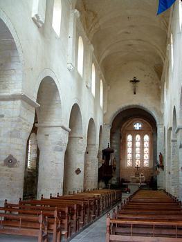 Gigny-sur-Suran - Abbariale - Vaisseau central