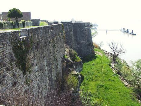 Citadelle de Blaye - Le rempart côté Gironde