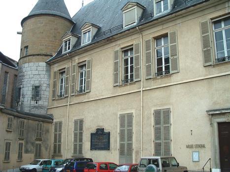 Grenoble - Musée Stendhal ancien hôtel de Lesdiguières, ancien hôtel de ville - Façade
