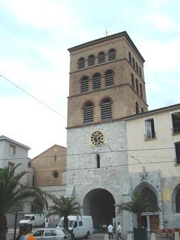 Grenoble - Cathédrale Notre-Dame - Façade