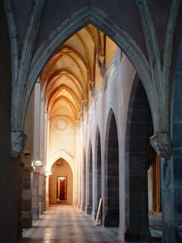 Grenoble - Cathédrale Notre-Dame - Collatéral (en cours de restauration)