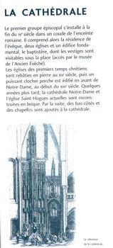 Grenoble - Cathédrale Notre-Dame - Panneau d'information