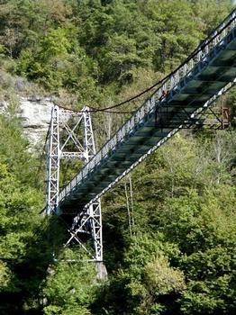Pont de Grésin Pile et tablier