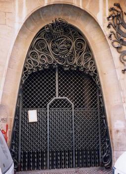 Palau Güell Tür