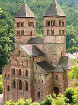 Murbach - Eglise abbatiale Saint-Léger