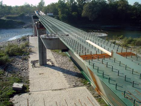 Rheinbrücke Hartheim - Fessenheim