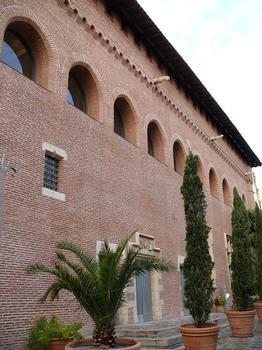 Toulouse - Musée Saint-Raymond - Musée des Antiques de Toulouse - Façade sur le jardin