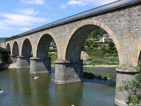 Eisenbahnstrecke Firminy - Le Puy – Viaduc de Chamalières-sur-Loire