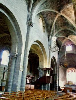 Chanteuges - Prieuré - Eglise priorale Saint-Marcellin - Nef