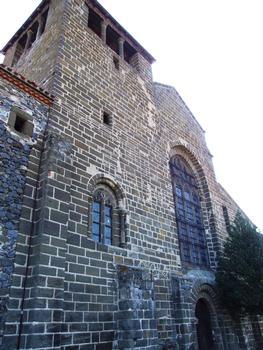 Chanteuges - Prieuré - Eglise priorale Saint-Marcellin - Façade