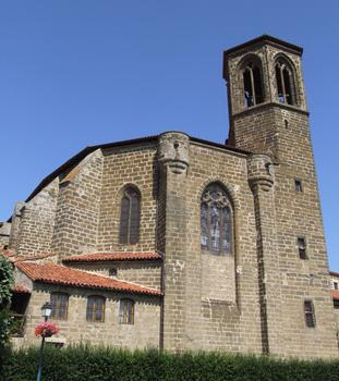 Langeac - Eglise Saint-Gal - Chevet