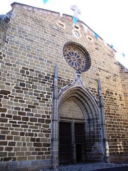 Langeac - Eglise Saint-Gal - Façade