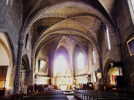 Langeac - Eglise Saint-Gal - Nef