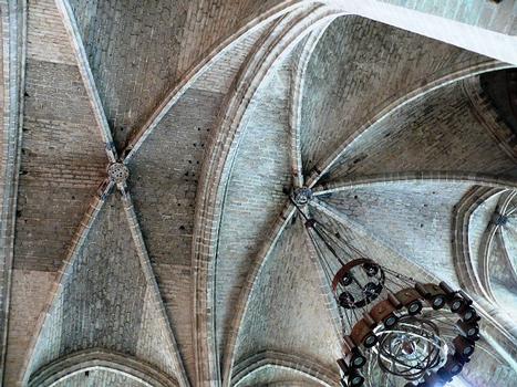 Abbaye de La Chaise-Dieu - Abbatiale Saint-Robert - Choeur des moines - Voûte