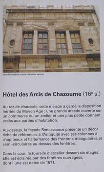 Hotel des Arcis de Chazourne