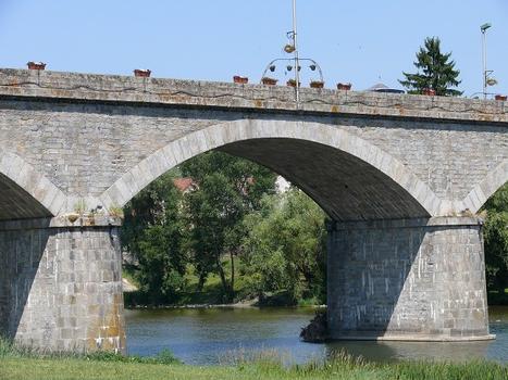 Retournac - Pont des Droits-de-l'Homme sur la Loire