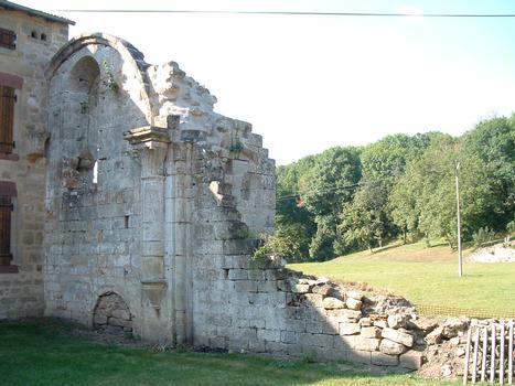 Abbaye de Morimond - Vestige du mur de l'église