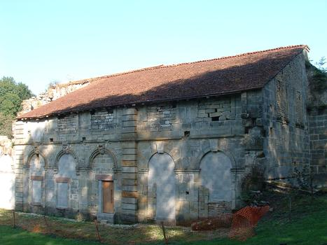 Abbaye de Morimond - Vestige de la bibliothèque
