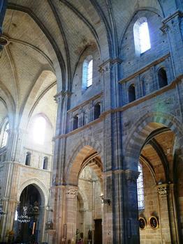 Cathédrale Saint-Mammès de Langres - Nef et croisée du bras sud du transept
