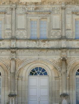 Château de Champlitte - Façade côté cour - Détail