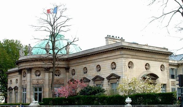 Paris - Hôtel de Salm ou Palais de la Légion d'honneur (Musée de la Légion d'honneur) - Façade côté Seine