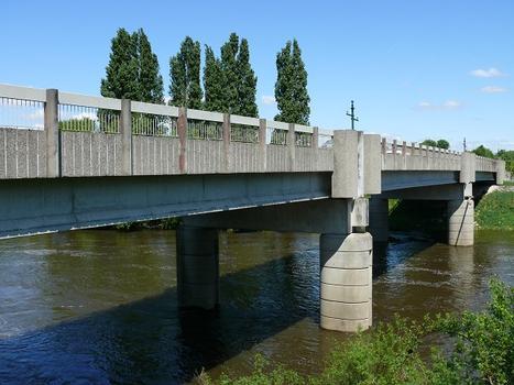 Descartes et Buxeuil - Pont Michel-Debré