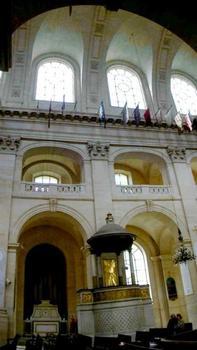 Hôtel des Invalides.Eglise Saint-Louis - Elévation
