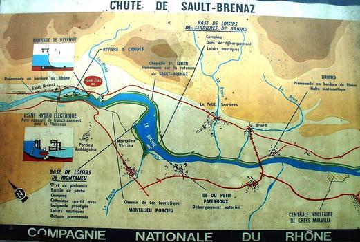 Aménagement de Sault-Brénaz - Plan