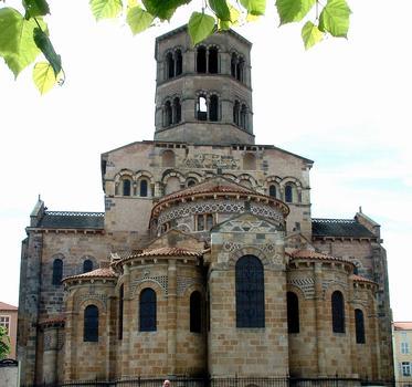Eglise Saint-Austremoine, IssoireChevet