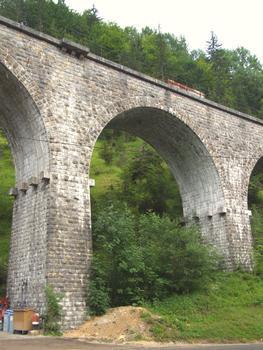 Ligne des Hirondelles - Morez - Viaduc de l'Evalude