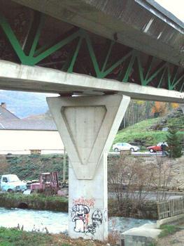 Arbois - RN83 - Pont sur la Cuisance