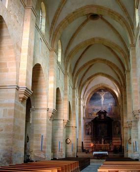 Abbaye de La Bénisson-Dieu - Nef