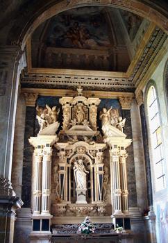 Abbaye de La Bénisson-Dieu - Chapelle de la famille de Nérestang