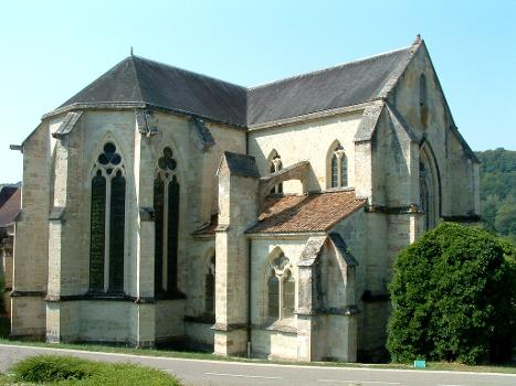 Abbatiale cistercienne, La ChaladeChevet et transept