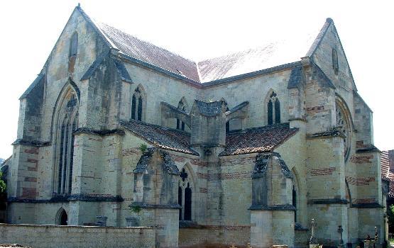 Abbatiale cistercienne, La ChaladeNef et transept