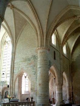 Abbatiale cistercienne, La ChaladeCroisée du transept