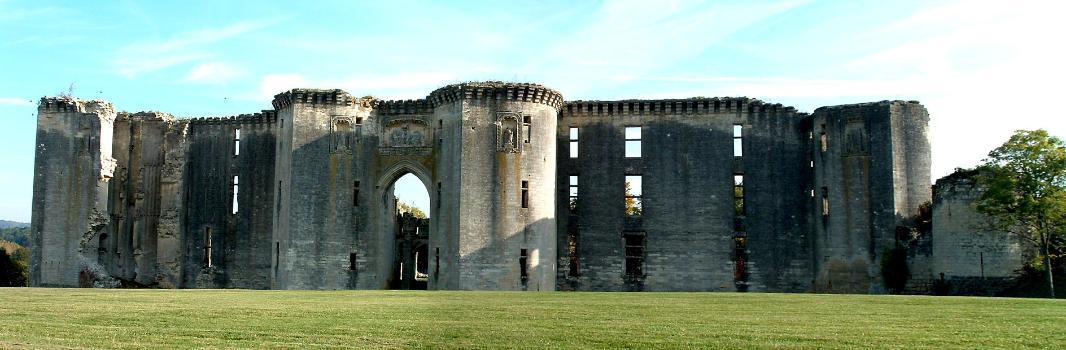 Château de La Ferté-MilonChâteau - Ensemble de la façade